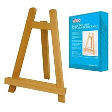 Us Art Supply Carmel Small 10-1/2 inch Tabletop Wood Display Artist A-Frame Ease