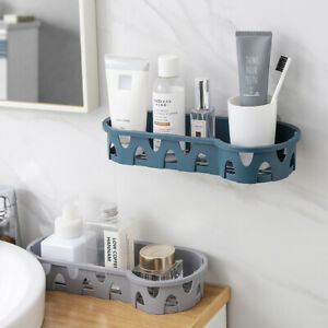 Shower Rack Shelf Bathroom Caddy Storage Organiser Basket Suction Shelf Tidy