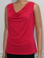 Women's Calvin Klein Sleeveless Blouse Top Pink Size M