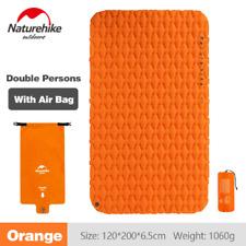 Naturehike NH가벼운 에어 매트/ 2인용-Orange(Mattress+Inflatable Bag) / 야외용 탠트 매트/