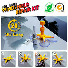 Auto Windscreen Windshield Repair Tool Set DIY Car Wind Glass Kit For Chip Crack