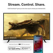 "VIZIO 40"" Smart TV D-Series HDTV D40f-G9 1080p Built in WIFI Free Shipping! Smar"