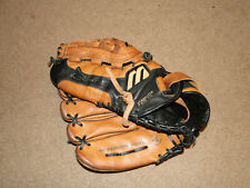 "Mizuno Leather Baseball Glove Vintage Model 13"" Size Left Hand Thrower"
