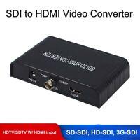 Portable SDI to HDMI Converter 720P/1080P FHD SD-SDI HD-SDI to HDMI Extender Box