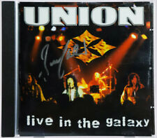 CD - UNION - LIVE IN THE GALAXY - AUTOGRAPHED BY BRUCE KULICK - KISS - C612507