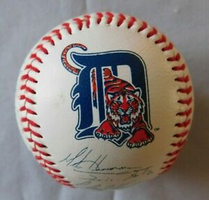 1994 Detroit Tigers Signed Facsimile Baseball