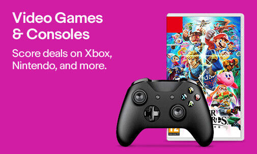 Video Games & Consoles | Score deals on Xbox, Nintendo, and more.