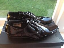 Black Patent Wedding Shoes (Mens, Size 6)