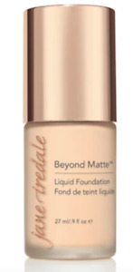 Jane Iredale Beyond Matte Liquid Foundation 27mL ~M1~ Retail=$50