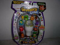 The Grossery Gang Time Wars 10 Pack w/ Special Edition Computer Virus  Grosserie