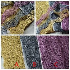3 color- High Quality Venise Lace Trim  - price for 1 yard/select color/