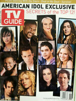TV Guide Magazine March 2008 American Idol Exclusive Cover - No Label EX