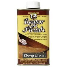 Howard Products Rf8008 Restor-A-Finish, 8 oz, Ebony Brown 8