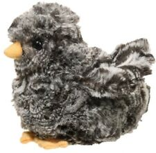 "Douglas Cuddle Toys 4"" Black Multi Chick # 1515 Stuffed Animal Toy"
