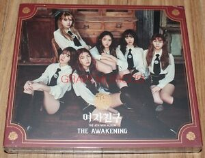 GFRIEND THE AWAKENING 4th Mini Album Knight Ver. CD + PHOTOCARD + FOLDED POSTER