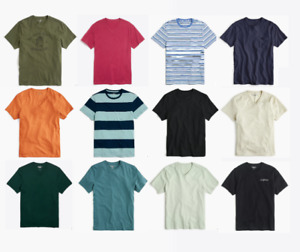 J Crew T Shirts Mens Authentic Classic Short Sleeve Tees Buy 2+ Save XS to 3XL