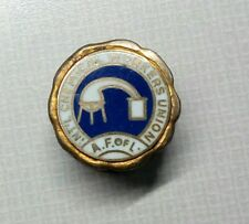 1950's INTERNATIONAL CHEMICAL WORKERS UNION A F of  L SERVICE PIN BADGE MEDAL