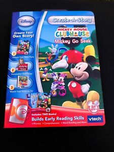 Vtech Create-A-Story Disney Mickey Mouse Clubhouse Mickey Go Seek