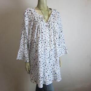 BEME Flowy Shirt sz 22 - NEW & Tags - BUY Any 5 Items = Free Post