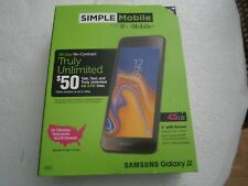 "Simple Mobile-T-Mobile-Samsung Galaxy J2-5""qHD LCD Screen-8MP/5MP Camera-NEW"