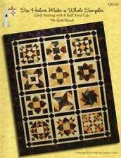 SIX HALVES MAKE A WHOLE SAMPLER by Susan Branch PB 32 pgs NEW! 3 projects
