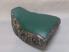 Honda TRX200D Type II Seat Cover  2-TONE GREEN & CAMO or 25 COLOR OPTIONS