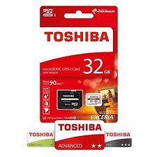 Carte micro SD Toshiba EXCERIA M302 4k 90MO/s 32GO avec adaptateur
