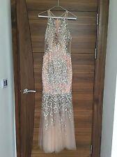 Authentic JOVANI Blush Fishtail Dress