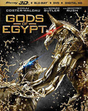 Gods Of Egypt Blu-ray 3D NEW!!!FREE FIRST CLASS SHIPPING
