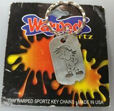 1999 Warped Sportz Paintball Keychain Nos vintage old