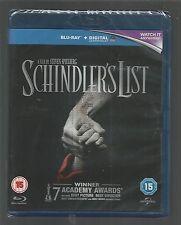 SCHINDLER'S LIST - sealed/new - UK BLU-RAY + UV DIGITAL ULTRAVIOLET - Spielberg