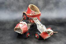 ancienne paire de patin à roulettes enfants marque TRUSETAL jouet vintage