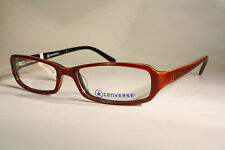 330ee0aa82e7 New CONVERSE  EXCESS  Women s Brown   Maroon   Barn Red Eyeglass Frames  Glasses