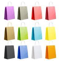 Kraft Paper With Handles Bag Sac en papier Récupération Boîte - cadeau De gros