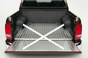 Original VW Verkleidung für Laderraum, Fahrerkabine, Aluminium #Amarok 2H