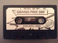 Atari 800XL/130XE - Grand Prix Simulador sólo por Codemasters Cassette