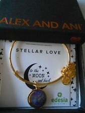 Alex and Ani STELLAR LOVE Expandable Bracelet Yellow Gold NWTBC