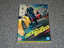 NEED FOR SPEED : AARON PAUL & DOMINIC COOPER ACTION DVD - IN VGC (FREE UK P&P)