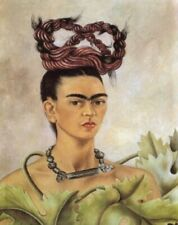 Self Portrait With Braid By Frida Kahlo Painting Art Paint By Numbers Kit DIY