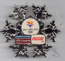 2002 Radio-Canada Sports Salt Lake Olympic Pin VIP Press Media RDS MD LE 300