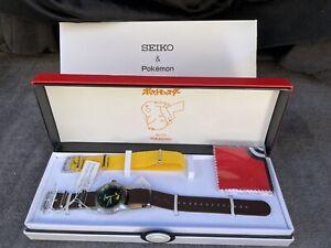 LTD SEIKO SELECTION Pokemon Special Pikachu Model SCXP177 Watch **US SELLER**