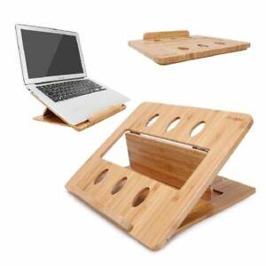 Laptop Stand Holder Adjustable Notebook Tablet Desk Bed Heat Dissipation