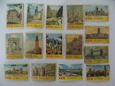 15 Etiquettes Allumettes - IFA - Monuments - Eglise - Europe - Belgium - (107)