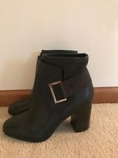 Calvin Klein Ankle Boots Size 9,5 New Retail 159$
