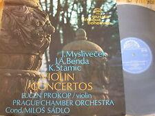 1 10 1060 Myslivecek / Benda / Stamic Violin Concertos / Prokop / Sadlo