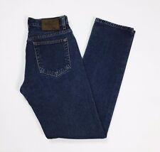 Calvin Klein jeans w28 tg 42 donna slim gamba dritta vita alta blu usato T2906