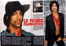 PRINCE => 5 pages 1985 french CLIPPING / COUPURE DE FRANCE