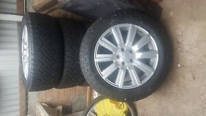 Set of 5 Goodyear Duratrac Wheels & Tyres - Land Rover Discovery 4