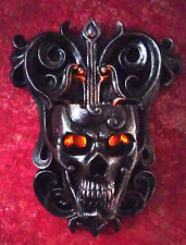 Flames of Infinity Skull Candle Wall Sconce