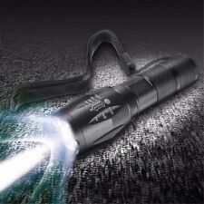 Tactical 90000LM T6 LED Flashlight Zoomable 5 Modes 18650 Focus Torch+AAA